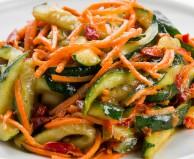 Ассорти (огурцы,морковь) по-корейски